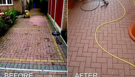 Liverpools Best Driveway Cleaner