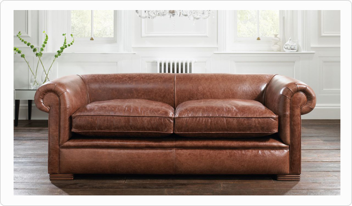 Leather furniture cleaning in Wirral