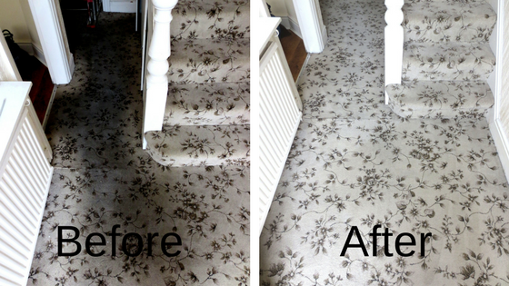 The difference carpet cleaning can make